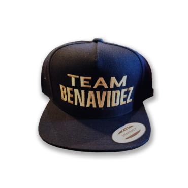 Team Benavidez Hat – Gold Edition