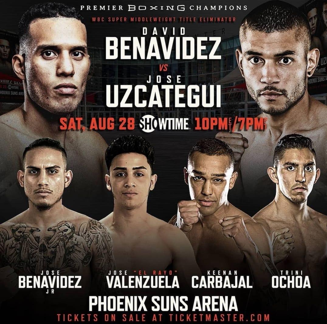 team benavidez fight card